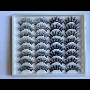 16 pairs of 3D Mink Lashes